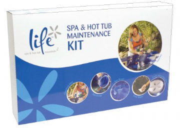 Life Spa and Hot Tub Maintenance Kit